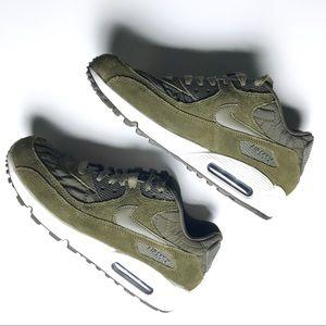 Nike Air Max 90 Premium Sz 8.5 Dark Loden Women's